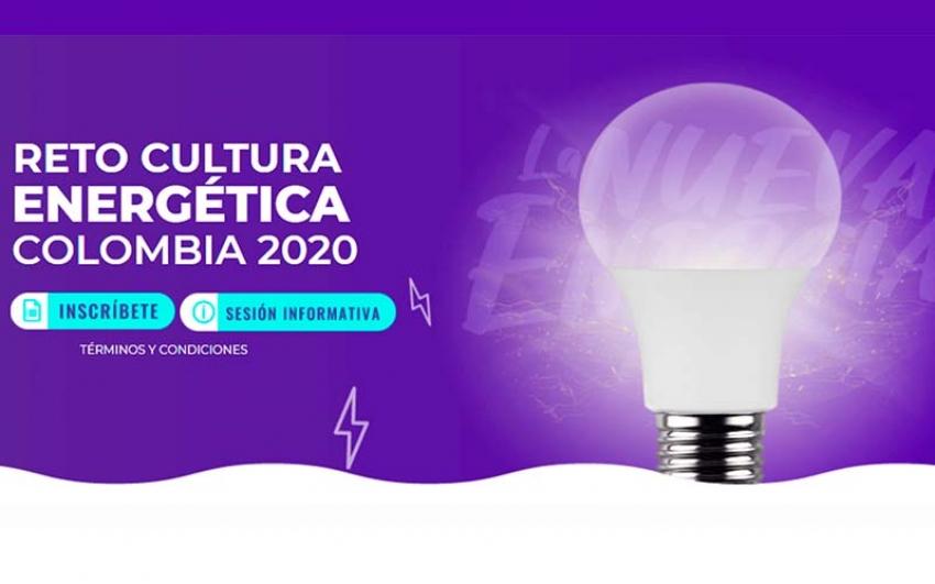 Abierta la convocatoria para el Reto de Cultura Energética Colombia 2020