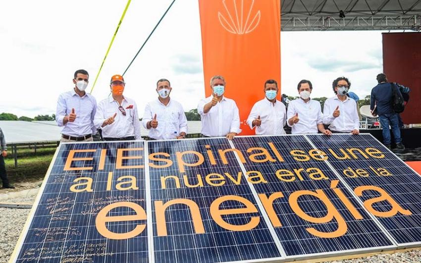 El Tolima ya cuenta con su primera granja solar