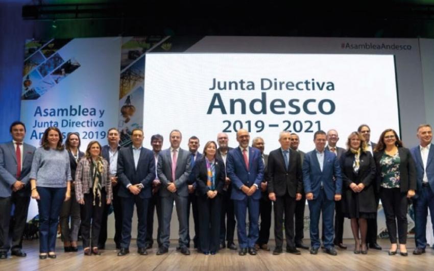 Nueva Junta Directiva de Andesco.