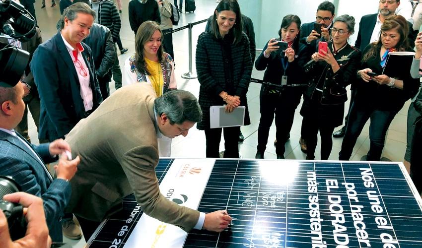 El proyecto de energía solar en aeropuertos más grande de América Latina