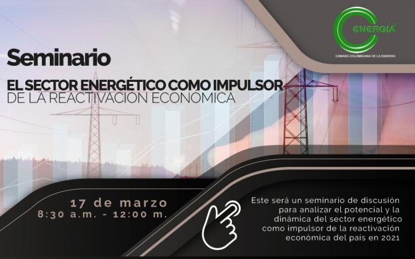 Seminario: El sector eléctrico como impulsor de la reactivación económica