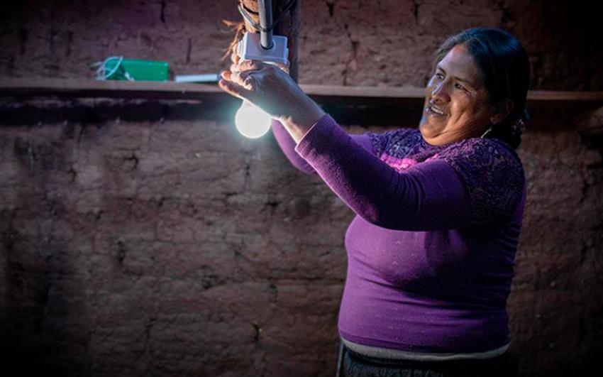 En Perú, más de 200 mujeres fueron capacitadas como promotoras y emprendedoras en tecnologías de energía sostenible
