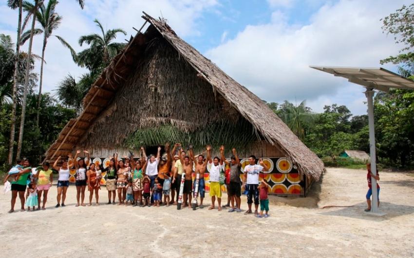 Con energía solar, Minenergía lleva soluciones energéticas a las poblaciones rurales de Caquetá y Vaupés