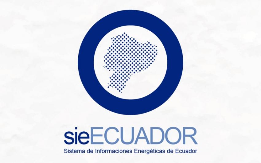 Se realizó el lanzamiento del Sistema de Información Energética Nacional para Ecuador -sieECUADOR-