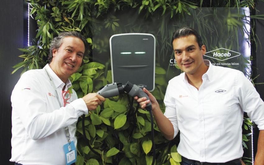 Celsia y Haceb lanzan primera estación de recarga de vehículos eléctricos para hogares, hecha en Latinoamérica