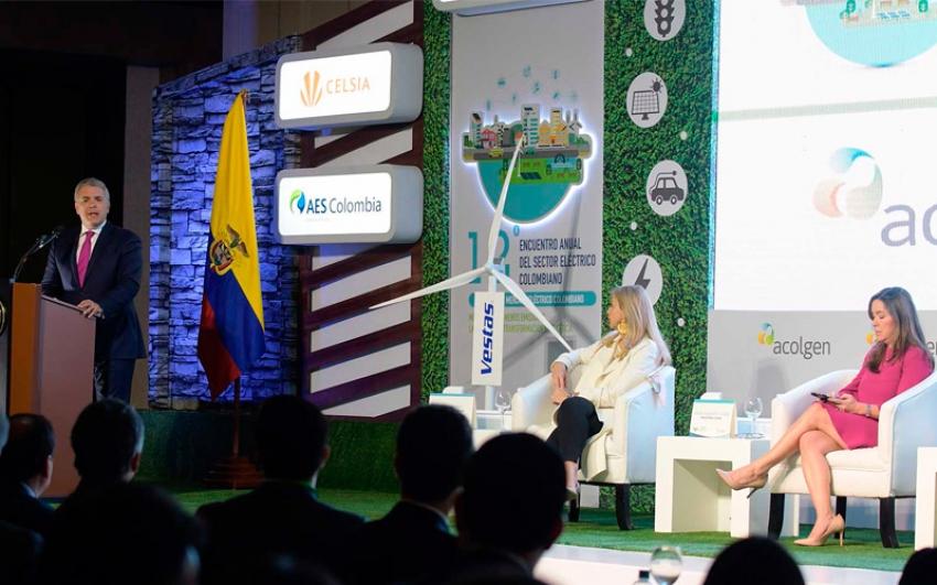 Gobierno le apuesta a la transformación energética para enfrentar cambio climático