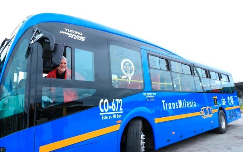 Bogotá rompe récord en Latinoamérica  por mayor número de buses eléctricos