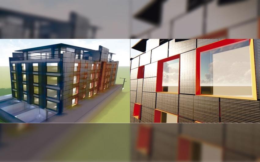 Beneficios de usar fachadas y cubiertas de edificio para generar energía fotovoltaica.