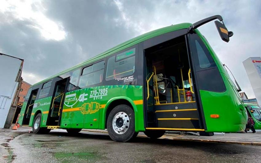 Financiación de la primera flota de buses eléctricos en Bogotá