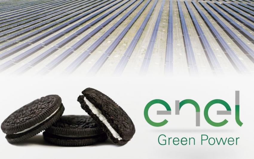 Enel Green Power proporcionará energía verde a la productora de galletas Oreo