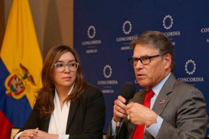 Ministerio de Minas y Energía firmó memorando de entendimiento energético con EE.UU