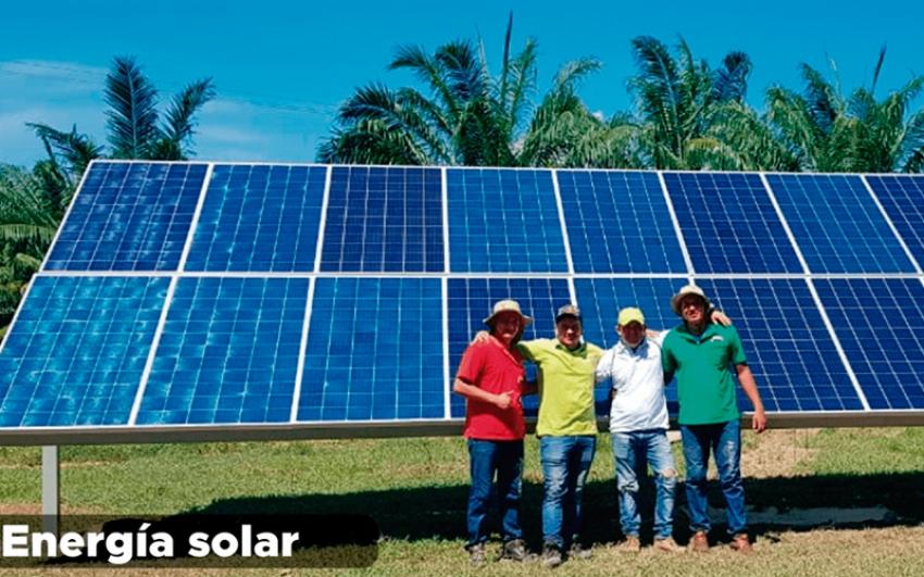 Bombeo solar con inversores variadores, una aplicación ganadora para el campo colombiano