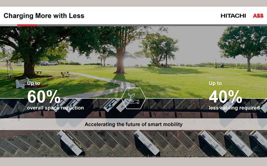 Hitachi ABB Power Grids revoluciona: la movilidad eléctrica a gran escala con sistema de carga inteligente