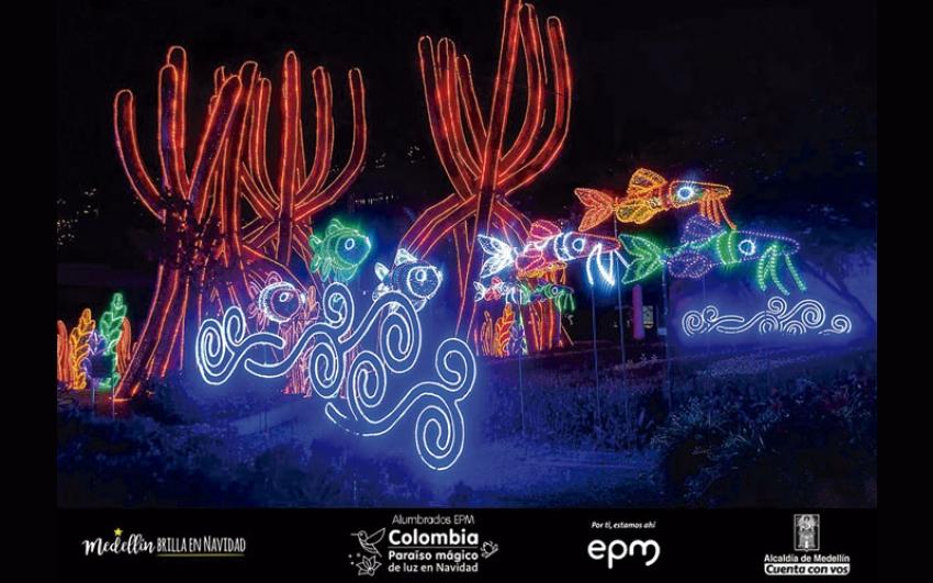 Alumbrados Navideños de Medellín  tendrán 26 millones de bombillas.