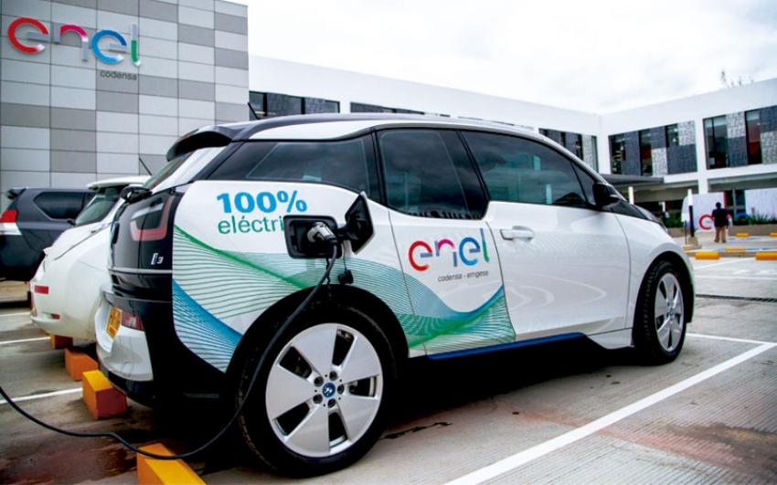 Enel-Codensa estrena nuevo punto de recarga para vehículos eléctricos en Chía