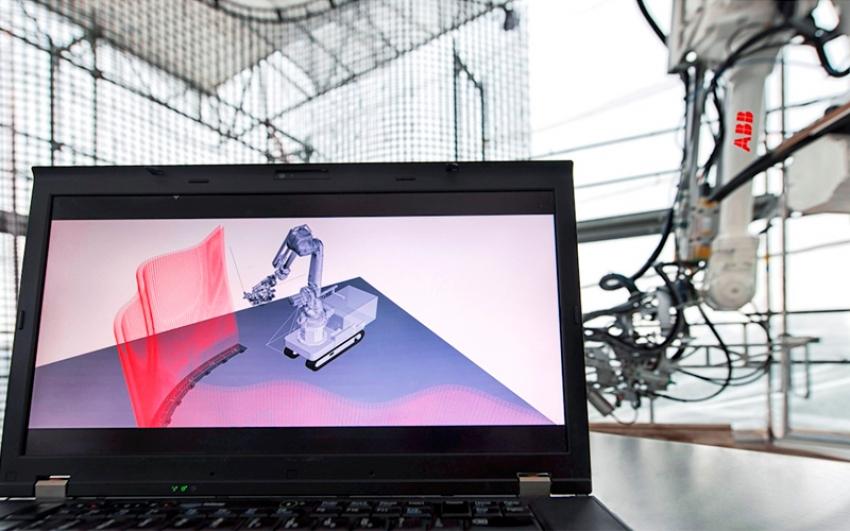 ABB Robótica avanza en la automatización del sector de la construcción